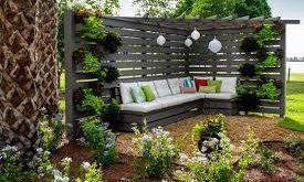 Küçük Bahçeler İçin Dekorasyon Önerileri 2