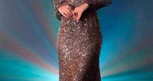 Simli Abiye Elbise Modelleri 1